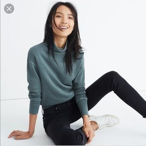 Rivet + Thread LA x Madewell turtleneck sweatshirt